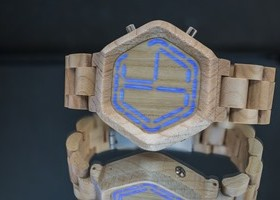 TokyoFlash Announces Kisai Night Vision Wood Watch