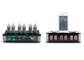 KickStarter: NIWA IN12: Nixie Tube Clock and Smartphone Charging Dock