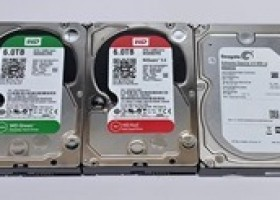 6 Terabyte Hard Drive Round-Up: WD Red, WD Green And Seagate Enterprise @ HotHardware
