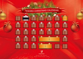 Tesoro Announces Christmas Calendar Global Giveaway