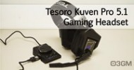 Tesoro Kuven Pro 5.1 Gaming Headset Video Review @ 3dGameMan