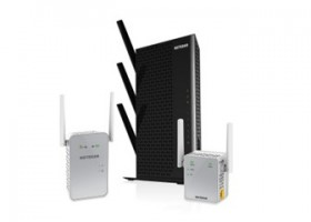 CES: Netgear with HotSpots, NAS and More