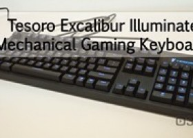 Tesoro Excalibur Illuminated Mechanical Gaming Keyboard Video Review @ 3dGameMan