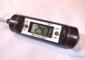 Online Gadgets Durable INSTANT Read Accurate Digital Meat Thermometer Review @ Technogog