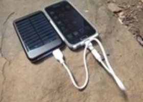 Treqkr50 Solar Charger 5000mah Portable Power Bank Review @ Technogog
