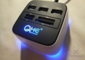 Aweek USB Hub and Card Reader Review @ Technogog