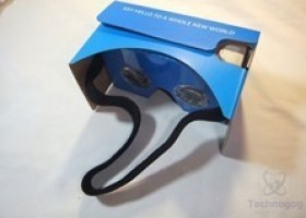 QPAU Virtual Reality 3D Glasses Google Cardboard DIY Kit Review @ Technogog
