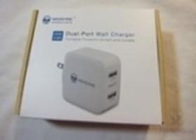 Wanshine Dual Port USB Travel Charger Review @ Technogog