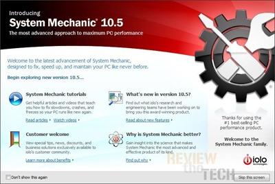 System Mechanic10