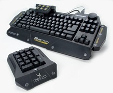 Right Angle Shot with Modular 10-Key Levetron Keyboard by AZiO