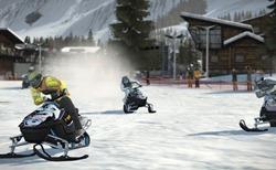 Winter Stars - Snowmobiling