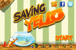 Saving Yello_Title screen1