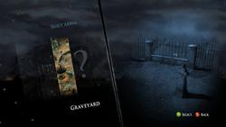 Graveyard Level select