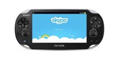SKYPE PLAYSTATION(R)VITA VIDEO CALLING