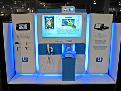 The Wii U 8' Best Buy interactive install completed