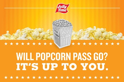 JOLLY TIME POP CORN GAME PIECE
