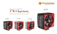 Thermaltake NiC Series, the all new CPU air cooler design