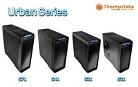 Thermaltake_s world premier of the Urban chassis series, elegance meets functionality.