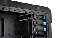 Thermaltake Chaser A31 Gaming Chassis  is maximally customizable to fit user's needs_ the modular design can modify the placement of the hard drive cage