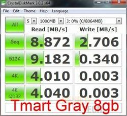 crystal usb gray 8gb