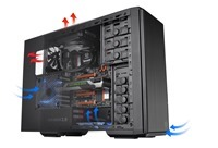 Thermaltake Urban T21 has a sophisticated and cutting-edge look
