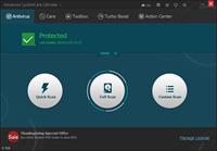 1.Antivirus-main screen