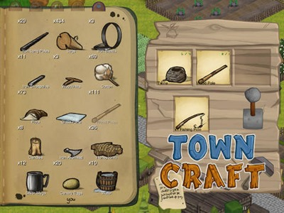 Towncraft - Crafting